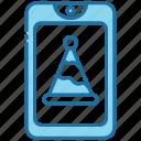 smartphone, invitation, mobile, message, party, rsvp