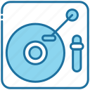 turntable, vinyl, music, player, instrument, multimedia