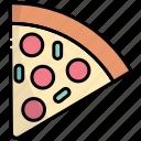 pizza, fast-food, slice, food, junk-food, pizza slice