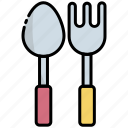 cultery, spoon, fork, food, eating, kitchen