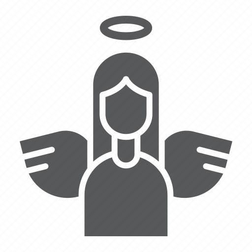 angel, christmas, decoration, easter, holy, peace icon