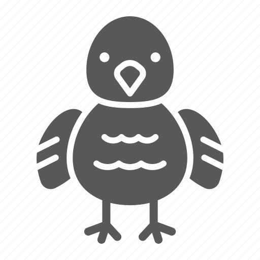 animal, baby, bird, chick, chicken, farm icon