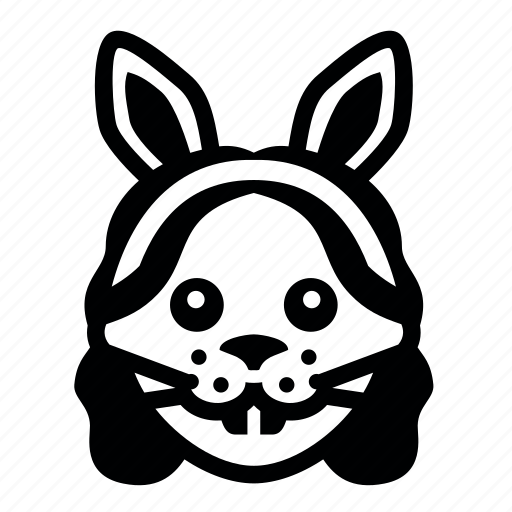 decoration, easter, emoticon, face, happy, mask icon