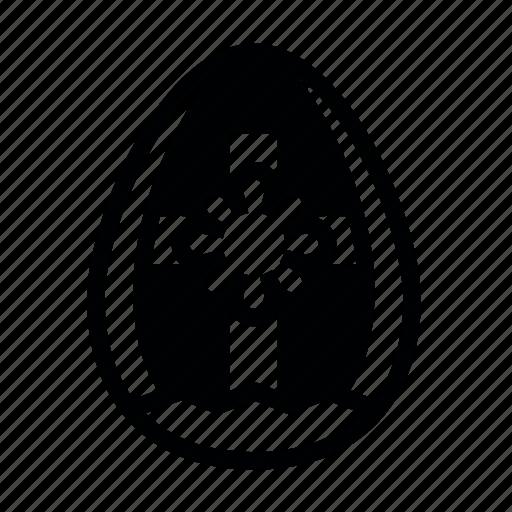 easter, egg, happy, smile icon