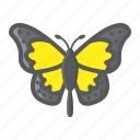 butterfly, easter, fly, insect, nature, spring, wing icon