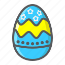celebration, easter, egg, food, happy, holiday, paint icon
