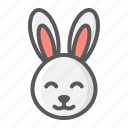 animal, bunny, cute, easter, happy, holiday, rabbit icon
