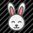 animal, bunny, cute, easter, happy, holiday, rabbit