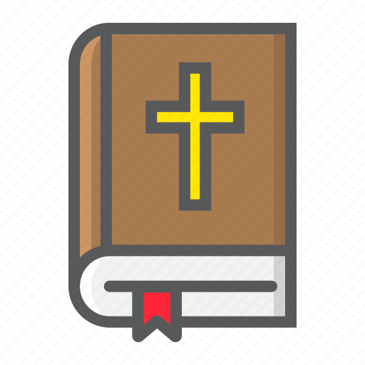 Bible, book, christianity, cross, easter, holy, religion icon - Download on Iconfinder