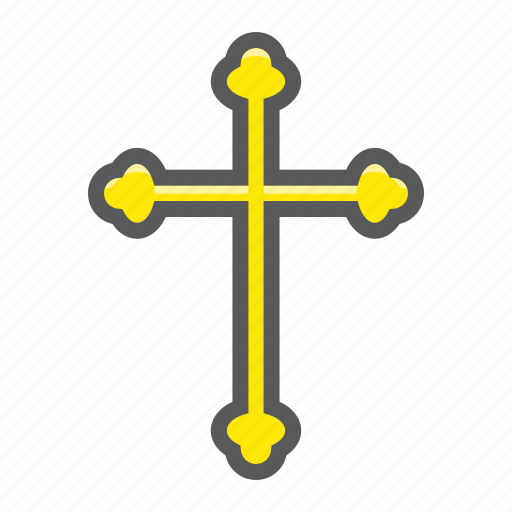 christian, church, cross, easter, holiday, jesus, religion icon