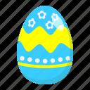 celebration, easter, egg, food, happy, holiday, paint icon