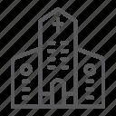 architecture, building, christian, church, cross, religion icon