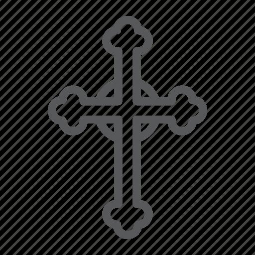 Catholic, christ, christian, cross, god, religion icon - Download on Iconfinder