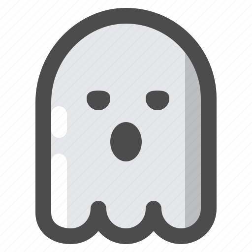 ghost, halloween, monster, scary, undead icon