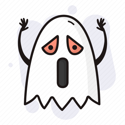 death, ghost, halloween, scary, spooky icon