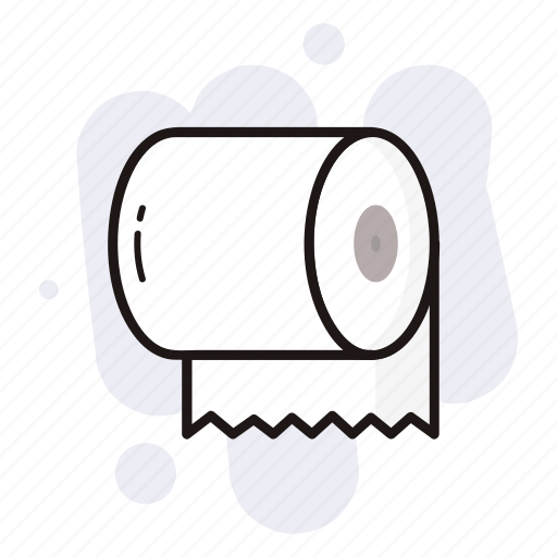 decoration, halloween, holiday, horror, toilet paper icon
