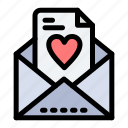 email, love, mom icon