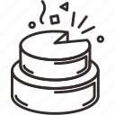 cake, new, party, year icon