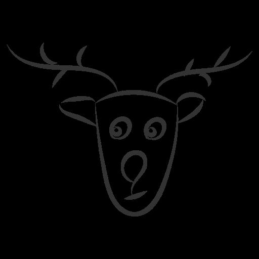 christmas, deer, noel, santa, winter, xmas icon
