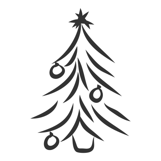 christmas, fir, gift, plant, spruce, tree, xmas icon