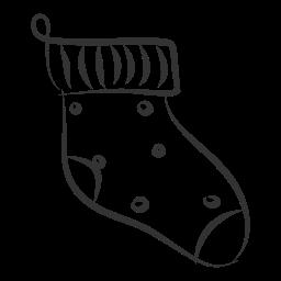 celebration, christmas, gift, holiday, sock, winter, xmas icon
