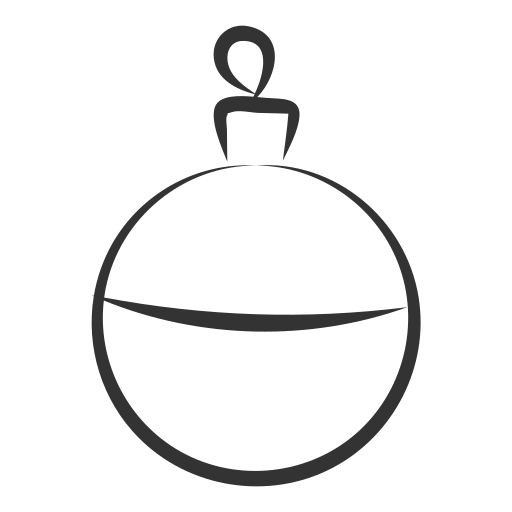 ball, celebration, christmas, decoration, gift, holiday, party icon