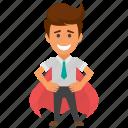 business achievement, mission achievement, successful businessman, successful mission, victory icon