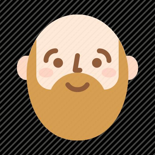 avatar, face, guy, happy icon