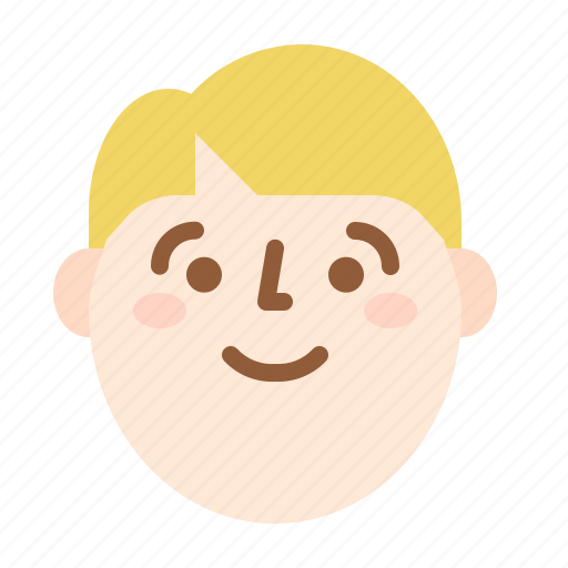 avatar, face, happy, profile icon