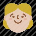 avatar, face, profile, woman