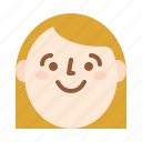 avatar, girl, smile, woman
