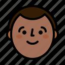 avatar, head, man, smile