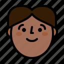 avatar, man, profile, smile