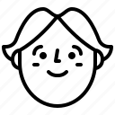 avatar, face, man, profile icon