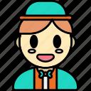 boy, man, avatar, user, profile, person, interface