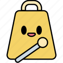 cowbell, percussion, instrument, music