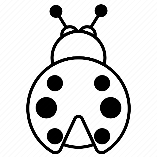 Ladybird, insect, bug icon - Download on Iconfinder