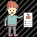 diet chart, diet plan, diet program, healthy life, weight loss plan icon