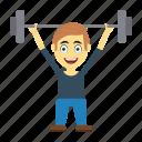 employee, exercise, fitness, gym, happy