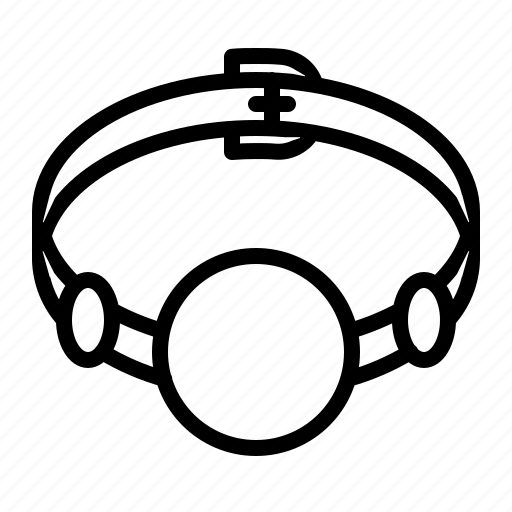 Ball, bdsm, fetish, gag icon - Download on Iconfinder