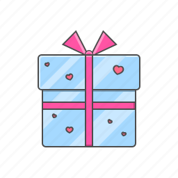 box, gift, love, valentine day, valentine day gift icon