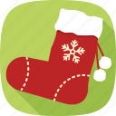 christmas, gifts, holidays, socks, winter, xmas icon