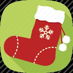 christmas, gifts, holidays, socks, winter, xmas icon