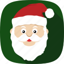 beard, christmas, holidays, santa, xmas icon