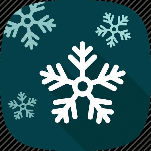 flakes, snow, winter, xmas icon