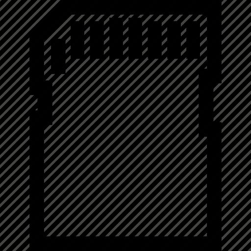 card, memory, sd icon