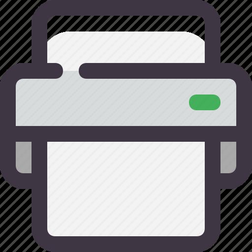 fax, office, print, printer icon