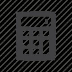 calculator, glyphs, ui icon