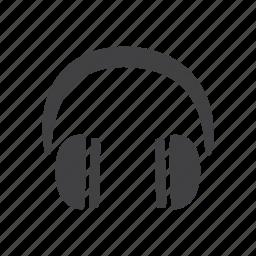 glyphs, headphones, ui icon