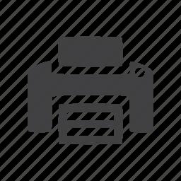 glyphs, printer, ui icon